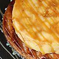 Tarte tatin façon michalak et pâte feuilletée semi-rapide de mercotte