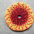 Frisbee soleil grenat #fsv000111