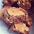 Brownies chocolat noir & noix de pécan