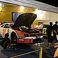 Atelier des voitures participant à la Nascar