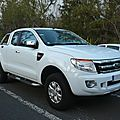 <b>FORD</b> <b>Ranger</b> XLT 2door extended cab pick-up 2014