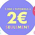 Mes tutoriels a 2 €