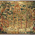 Tapisserie Tournai. La <b>fontaine</b> de <b>jouvence</b>. Premier quart du XVIe siècle, vers 1520