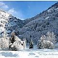 Neige photo d'hiver