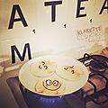Pancakes à croquer