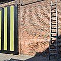 mur de ferme en brique