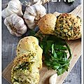 Cougnous salés façon Garlic Bread