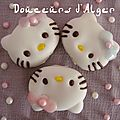 Petits gâteaux hello kitty