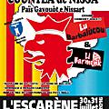 Festa de la countea - l'escarène 30 et 31 juillet 2016