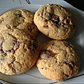 Cookies puffy chewy