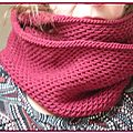snood honey cowl