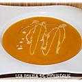 Velouté carottes au lait de coco (thermomix tm 5 ou tm 31 )