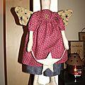 L'ange à l'étoile (45 cm)