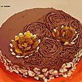 Gâteau végan: amande, framboise et chocolat !