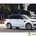Location <b>voiture</b> de <b>luxe</b> à Casablanca – Range Rover Sport