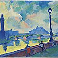 A rare fauve view of the thames by André Derain to star in Christie's Impressionist and Modern art evening sale