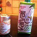 Poulet saute a l ananas et coco