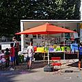 Lire nomade au parc, avec la roulotte aux mille histoires