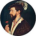 Hans Holbein the Younger : Simon George. <b>1533</b>