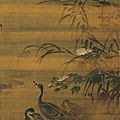 Lü ji (ca. 1429-ca. 1505), autumn shoals and waterfowl, ming dynasty