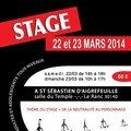 Stage de théâtre à alès - 22/23 mars 2014
