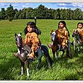 Amérindiens dans la prairie, et explications sur la Fête du Travail nord-américaine (1er lundi de septembre)