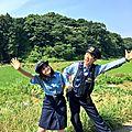 Photos & vidéos twitter : ( [account @mpd_ikimono] - |2017.07.27 - 16h01| kanna hashimoto & daisuke yokoyama )