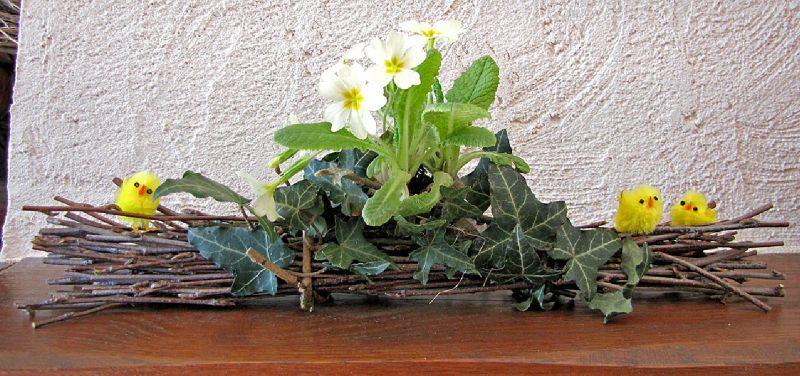 D coration florale pour p ques couleurs des jours for Decoration exterieur pour paques