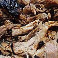 Pulled pork ou porc effiloché