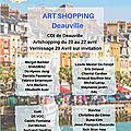 Pâques 2019: FabEnT au Salon internatinal ART SHOPPINGà DEAUVILLE avec la <b>Galerie</b> BDMC de Paris