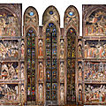 The main chapel of the Basilica of Santa Croce open for visits after five year restoration