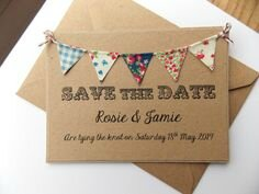 Faire-parts et Save the date