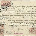 Collection passion : les timbres fiscaux