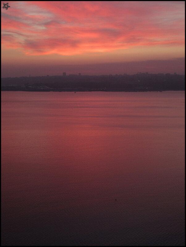 couchers de soleil sur Brest (1)