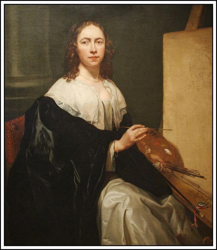 Michaelina Wautier : autoportrait