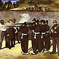 Manet, exécution de Maximilien2