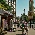 La tour Saint-Jacques depuis la rue de Rivoli.