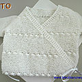 explications tricot bb, brassiere croisee, bebe mixte, explications