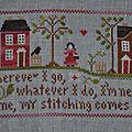 traveling stitcher