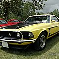 Ford mustang boss fastback coupe - 1969