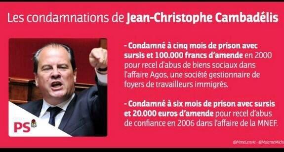 """La vie est belle en France pour les escrocs et les socialistes. """"Escrocs et socialistes"""", c'est un pléonasme."""