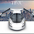 <b>Image</b> du <b>Jour</b> - Terrafugia TF X - La Voiture Volante ! - 4 Photos + VIDEO