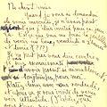 Lettre d'Amrita Sher-Gil à Denise, Paris, mardi 14 juin 1932