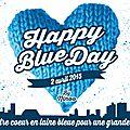 Le <b>Happy</b> <b>Blue</b> <b>Day</b> : Tricotez des carrés en bleu