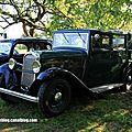 Delahaye type 122A berline 4 portes de 1934 (30 ème Bourse d'échanges de Lipsheim) 01