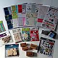 Lot de matériel de <b>carterie</b> offert par Passion Cartes Créatives et Toga