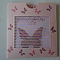 Pochette Envolée de Papillons