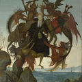 Metropolitan museum of art to show michelangelo's first painting, the torment of saint anthony