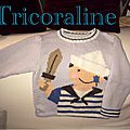 A l'abordage ! pull pirate