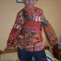 Petite tunique style Africain